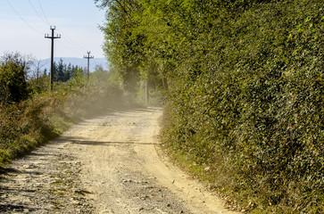 polvere strada