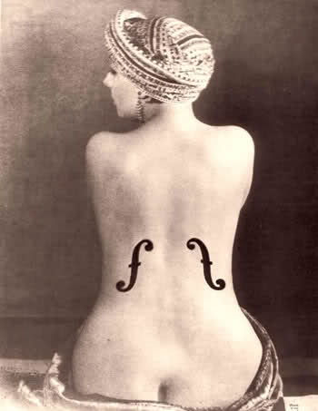 Man Ray le violon di ingres